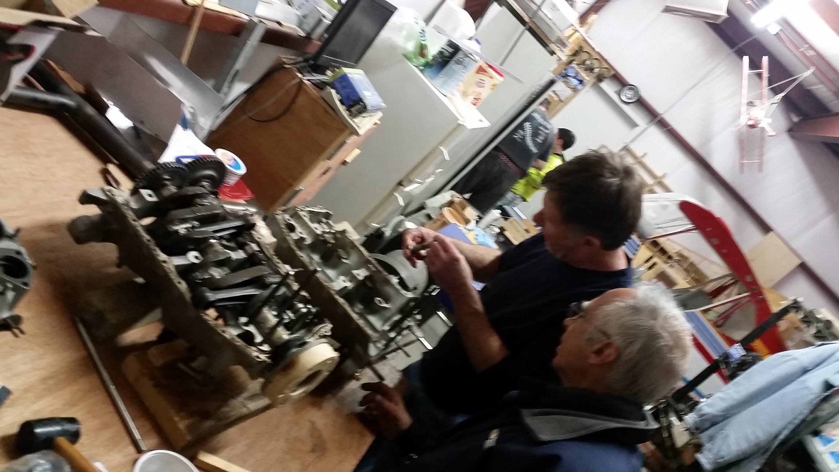 Jan 10 2015 build report EAA800: Overhauling our engine