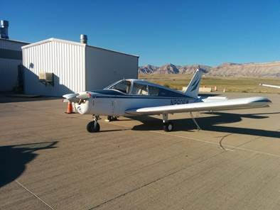 Cherokee at Grand Junction Regional Airport before donation to HAWK