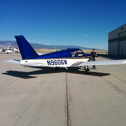 Piper Cherokee N9606W Courtesy Eddie Clements, Photographer