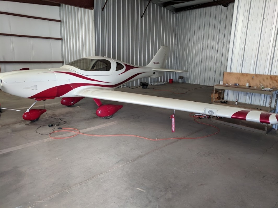 2014 Arion Lightning donated by Ron Huddleston. This plane is for sale to fund the program.