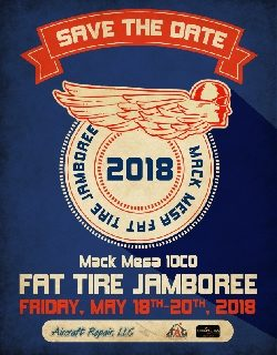 HAWK-april-may-june-2018-newsletter: 2018 Fat Tire Poster Courtesy Fly Colorado