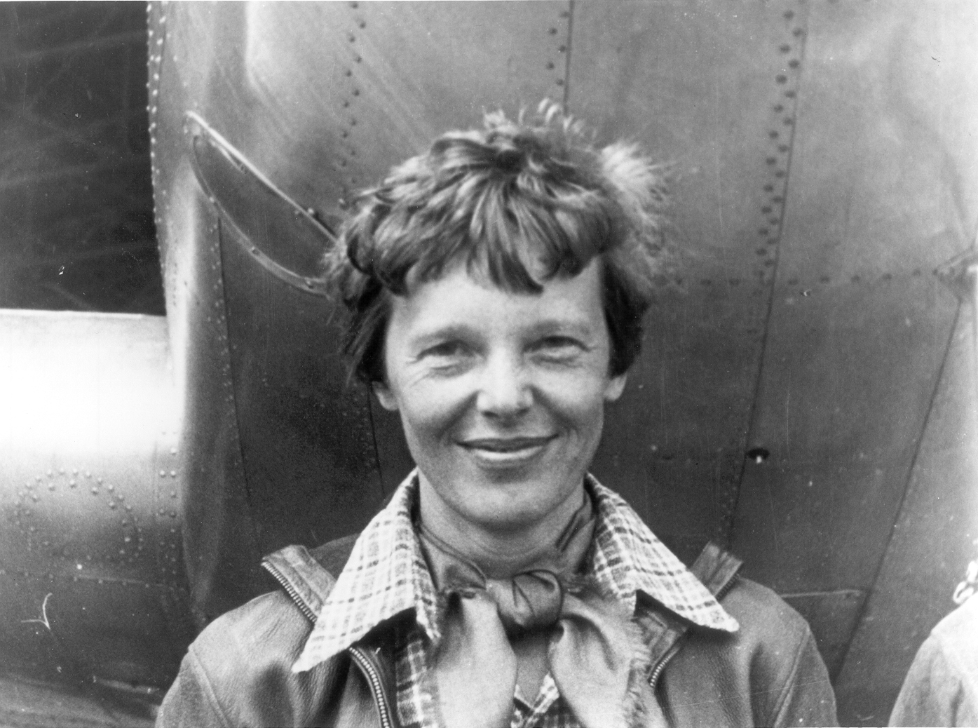 Amelia Earhart Courtesy Wikimedia as well as Underwood & Underwood --Public Domain--