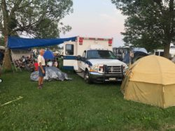 HAWK Camping at OSH AirVenture 2021