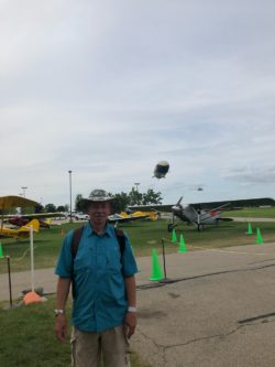 CFI Bruce Erickson at AirVenture 2021 Courtesy & © Bruce Erickson